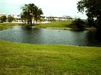 The Key West Golf Course with the Golf Club townhouses surrounding it.