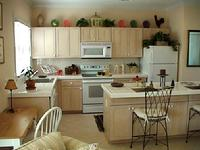 The Great house kitchen in a key west golf clun home
