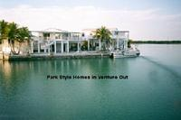 Park Stlye Homes on the open water in Venture Out Park, Cudjoe Key, Florida Keys