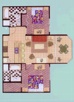 Sunrise Suites Floorplan