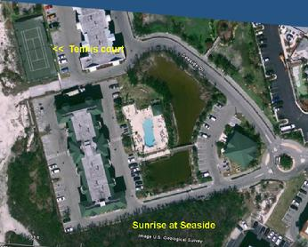 Air View of Sunrise Suites