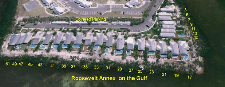 Roosevelt Annex Air view with Street numbers